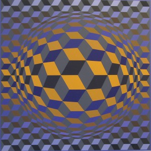 VASARELY-Litho_orange2